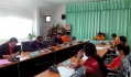 ประชุมคณะกรรมการติดตามและประเมินผลแผนพัฒนาท้องถิ่น ปีงบประมาณ 2558